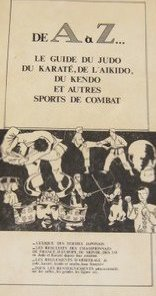 De a à z -le guide du judo, du karaté, de l'aikido, du kendo et autres sports de combat