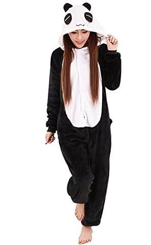 Feoya Adulte Pyjama Animaux Une pièce Costume Halloween Onesie Soirée