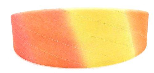 Frisuren Gangster (Haarreif in der Trendfarbe dieses Sommersgelb - orange, leicht glänzend)
