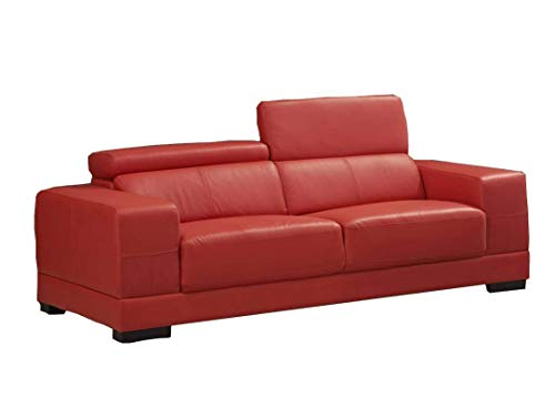Voll-Leder Sofa 3-Sitzer Ledersofa Sessel Dreisitzer Couch 2017-3-8401