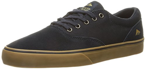 Emerica Provost Slim Vulc X Toy Machine, Herren Skateboardschuhe grey/black
