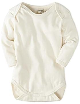 hessnatur Baby Baby Body Langarm - 100% Bio Baumwolle Organic Cotton - unifarben natur unisex