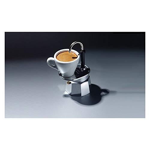 Bialetti - 1281 - Mini Express - Cafetière Italienne en Aluminium - 1 Tasse