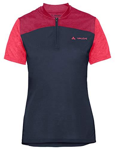Vaude Damen Tremalzo IV, Shirt für den Radsport T, Blau (Eclipse/pink) 40