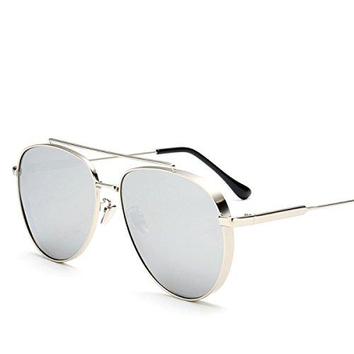 Polarisierte Farbfilm-Sonnenbrille Männliche Und Weibliche Allgemeine Sonnenbrille Die Metallgläser Fährt,A2