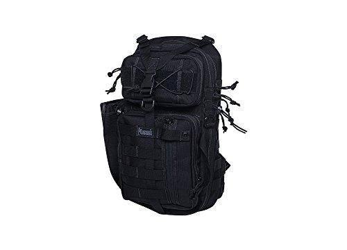 Magforce International USA, Inc. 431Köcher Pack M/Rechte Hand Tactical- Wasser und Öl Abweisend Crossbody Bag Camping Wandern Reise Schule Casual Business, Schwarz