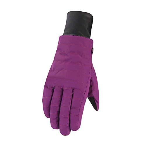 Qlans Reithandschuhe, Unisex Winter Warme Thermohandschuhe Winterhandschuhe für Männer Frauen