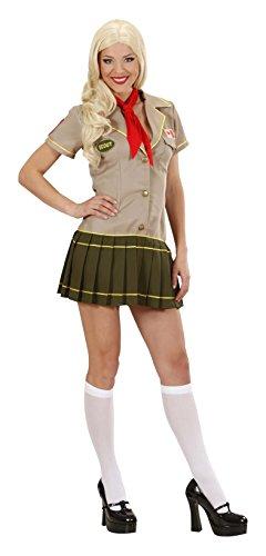 Kostüm Girl Scout - WIDMANN 2067-Scout Girl, Farben sortiert, Größe L