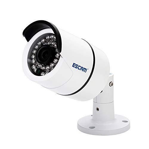 Ydq telecamera per videosorveglianza wifi 1520p hd telecamera bullet per visione notturna telecamera ip per rilevazione movimento a infrarossi impermeabile adatto per interni/esterni mall