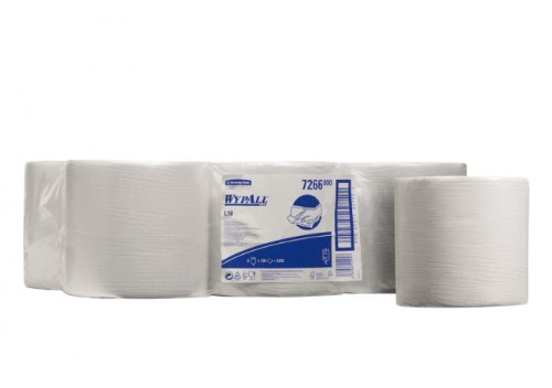 kimberly-clark-wypall-l10-wipers-centrefeed-roll-white-6-rolls-x-700-sheets-free-uk-deliver