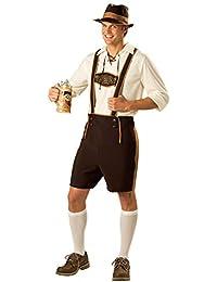 Zhuhaijq Alemán Lujoso Vestir Moda Disfraz Cerveza Festival Fiesta Vestir para Hombres Gordos - Halloween Bavarian