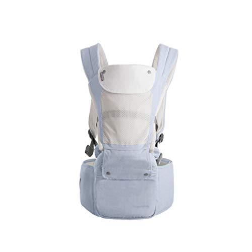 Ergonómico Mochilas Portabebé Mochila portabebés ergonómica Hipseat para bebés recién Nacidos y para prevenir Las piernas Tipo O Sling Baby Kangaroos Mochilas portabebé (Color : A)