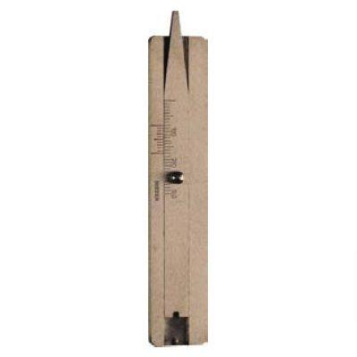 Messing-Reifenprofil-Tiefenmaß, 30 mm