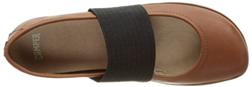 Camper Right Nina, Ballerine Donna, Marrone Marrone (Medium Brown)