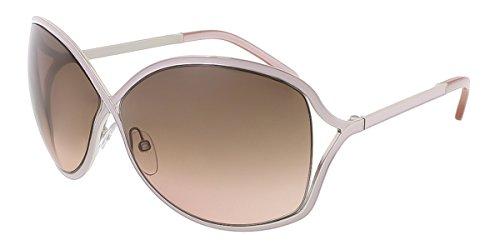 Tom Ford Für Frau 0179 Rickie Silver / Powder Insert / Mauve Gradient Metallgestell Sonnenbrillen