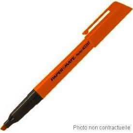 Lot de 12 Papermate - Pochette de 12 surligneurs de poche Fluo Accent - pointe biseautée - orange