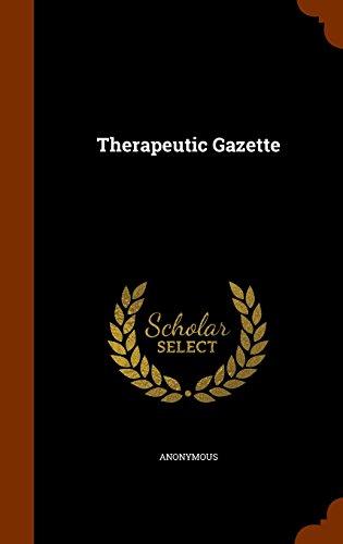 Therapeutic Gazette