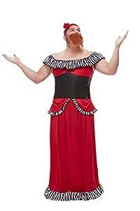 Smiffys 50806XL - Disfraz de mujer con peluche, para hombre, talla XL, 116,8-121,9 cm