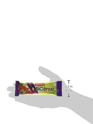 Noberasco BioBreak con Cranberry, Mirtilli Neri e Semi di Chia 35 g; 24 BARRETTE CON FRUTTA ESSICCATA, FRUTTA SECCA E… 5 spesavip