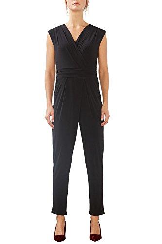 ESPRIT Collection Damen  Jumpsuits 997EO1L800, , , , , Gr. 36 (Herstellergröße: S), Schwarz (Black 001)