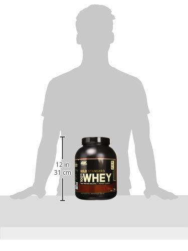 Optimum Nutrition Gold Standard 100% Whey, Suplemento para Deportistas (Doble Rico Chocolate), 2270 g