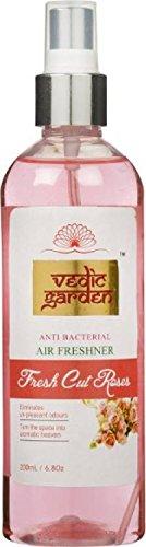 Vedic Garden Fresh Cut Roses Home Liquid Air Freshener (200 ml, Spray Dispense Action)