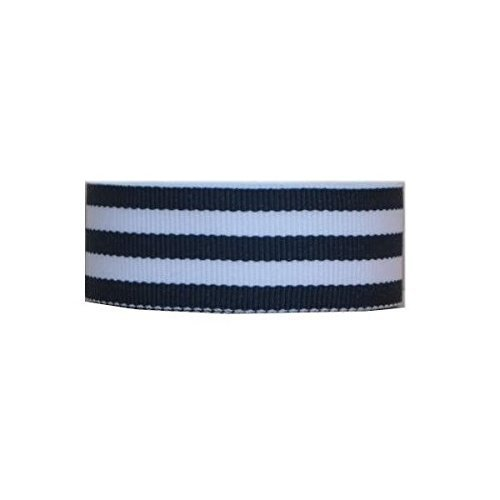 Grosgrain Mono Stripe Ribbon 1.5 10 Yards Navy by Offray