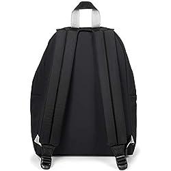 Eastpak Padded PAK'R Sac à Dos Loisir, 40 cm, 24 liters, Noir (Blakout BW)