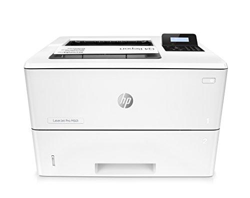 HP LaserJet Pro M501dn Laserdrucker (A4, Drucker, LAN, Dplex, HP ePrint, Cloud Print, Airprint, USB, 600 x 600 dpi) weiß