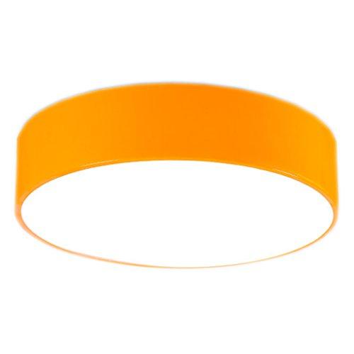 Deckenmontage-wärme-lampe (LU- Decken-Traum-Kollektion Moderne Deckenleuchte ( Farbe : Gelb-30cm ))