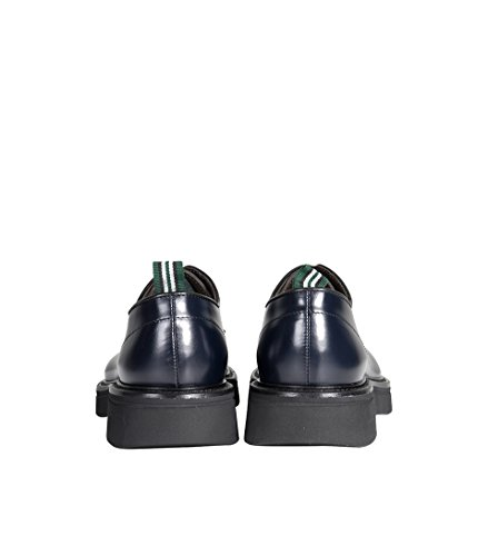 GREEN GEORGE Herren Schuhe Ric Nero in Schwarz polished nero