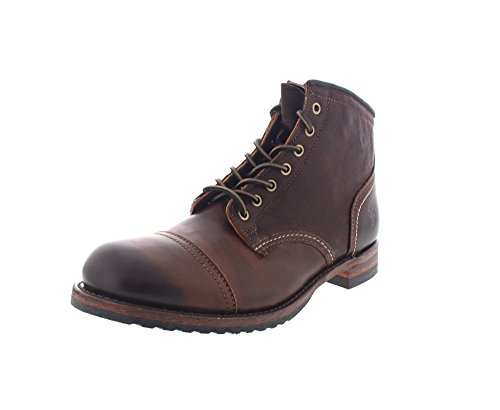 FRYE - Boots LOGAN CAP TOE - dark brown (braun)