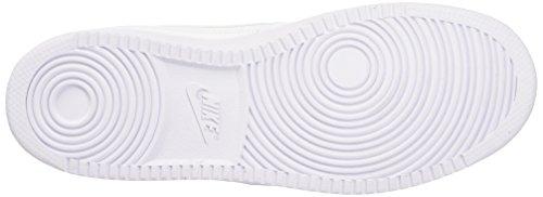 Nike Priority Mid Scarpe da basketball Blanco (White / White)