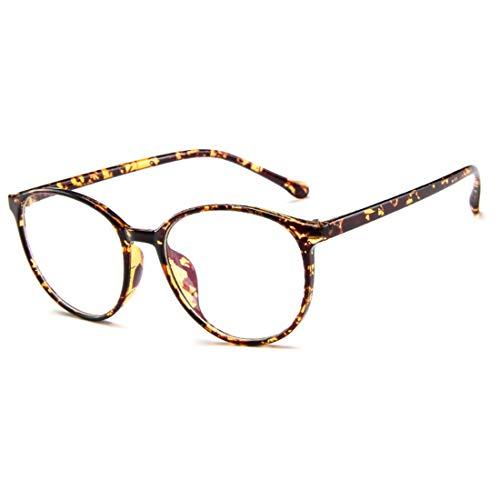 DGHFBD Fashion Unisex-Adult Retro Full PC Frame Leichte optische Gläser