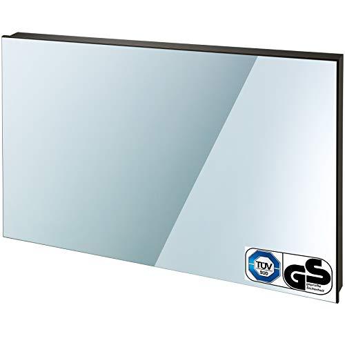 TecTake Spiegel Infrarotheizung Spiegelheizung ESG Glas Elektroheizung Infrarot Heizkörper Heizung inkl. Wandhalterung – diverse Modelle – (700 W | 93x62x4 cm | Nr. 402466) kaufen  Bild 1*