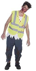 Creaciones Llopis Disfraz Adulto Conductor Zombie, Multicolor (9303