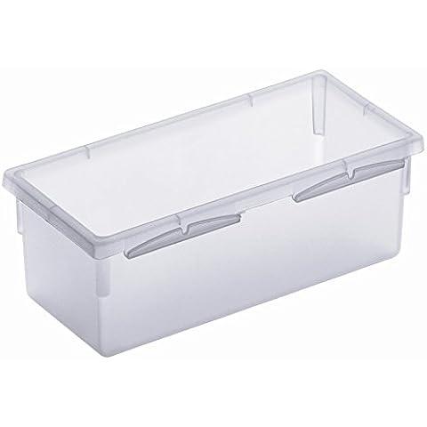 Rotho 7610859058331 organizador para cajón de escritorio - organizadores para cajones de escritorio (Transparente, De plástico, 150 x 80 x 50 mm)