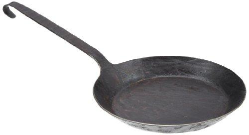 Turk 65528 Eisenpfanne aus einem Stck handgeschmiedet, 28 cm