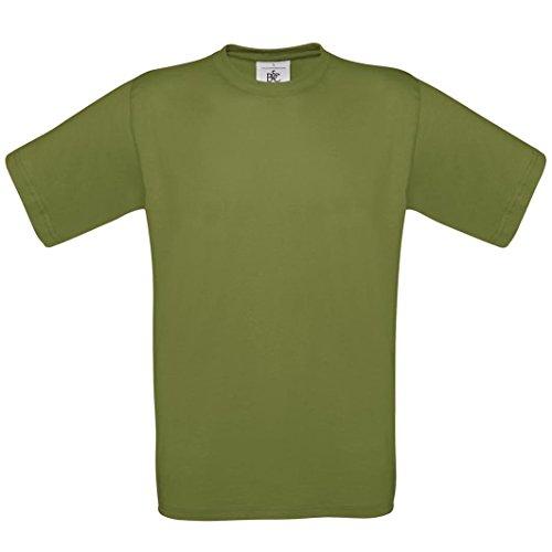 B & C Collection, Exact 190, BA190, T-Shirt - Green Moss