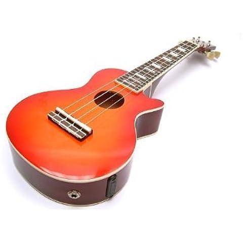 Cherry Sunburst Les Paul, Ukelele elettro-acustico/elettrico, Ukulele (con pick-up) e