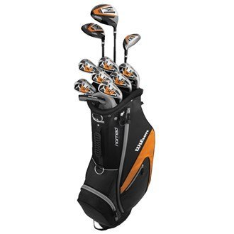 2014 Wilson X31 Mens Golf Package Set Graphite/Steel Right Hand(Standard Length) -