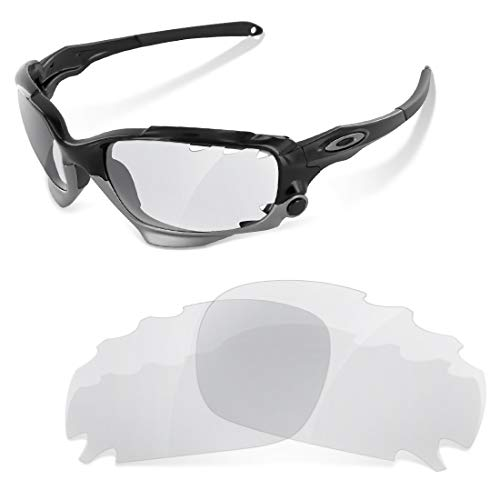 sunglasses restorer Kompatibel Ersatzgläser für Oakley Jawbone Vented | Photochromic Grey Linsen