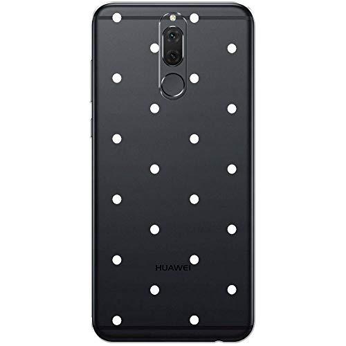 Ooh.Color Huawei Mate 10Lite–Carcasa de Silicona, Ultra Slim Funda con diseño elástica Cover Fina Bumper Transparente Case Slim Funda de diseño