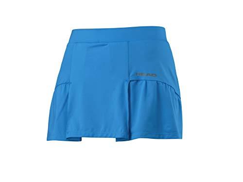 HEAD Damen Club Basic Skort Women Röcke, blau, L
