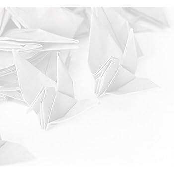 Toyo Origami Paper Single Color White 15cm 100 Sheets Amazon