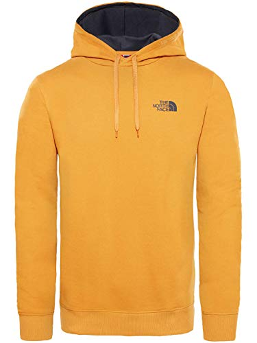 Sudaderas The North Face amarilla con capucha