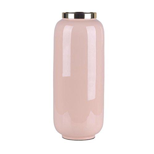 Gift Company Saigon Vase Blush/Gold 14X30X14Cm (Blush Vase)