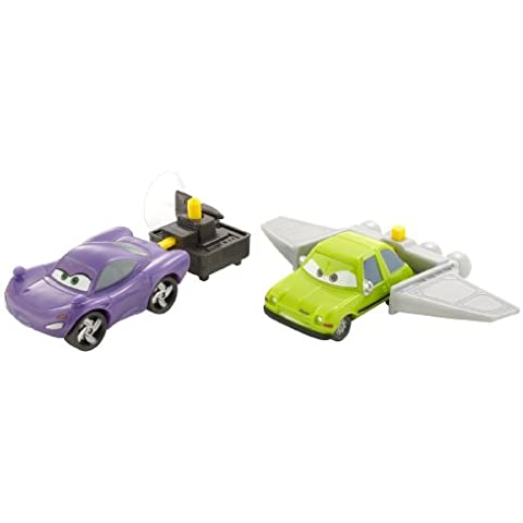 Disney Cars 2 Action Agents V4249 Acer & Holley Shiftwell