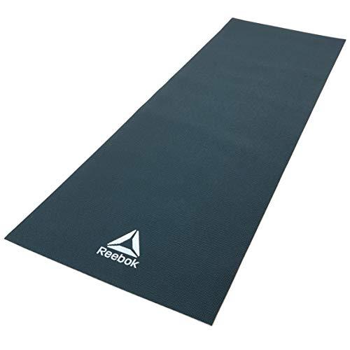 Reebok Estera de Yoga - Verde Oscuro, 4 mm