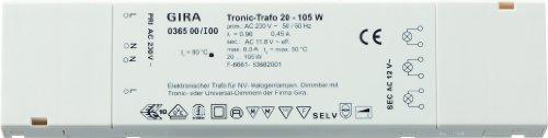 036500 Tronic Trafo 20 105 W flach Elektronik, weiß